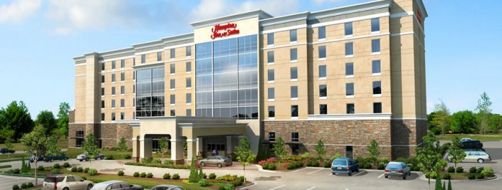 Hampton Inn Breaks Ground at Grandscape