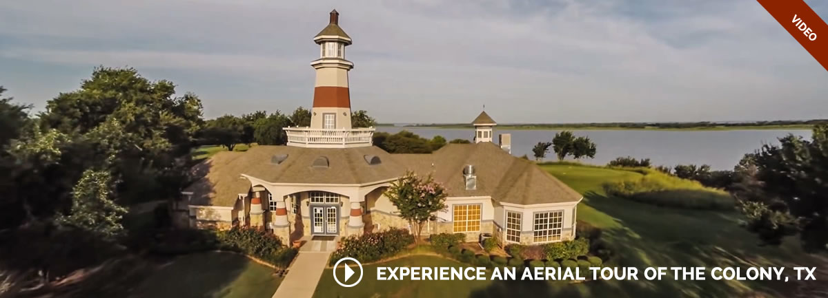 Experience An Aerial Tour of The Colony, TX