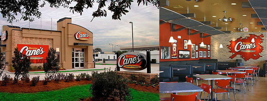 Raising Cane's Opening In The Colony